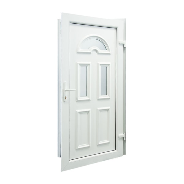 drzwi wejsciowe d06 biale otwarte