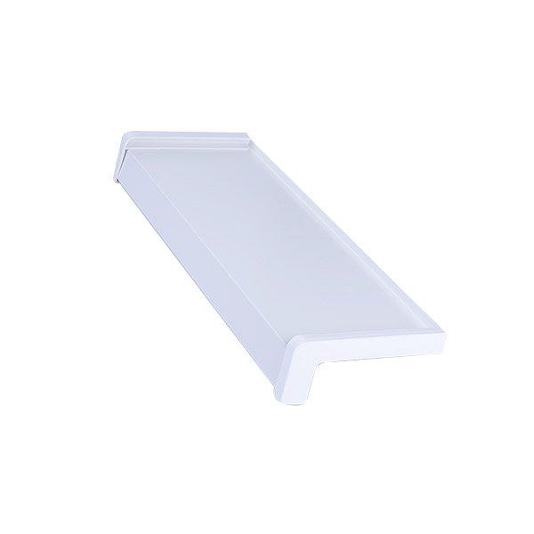 parapet aluminiowy biały