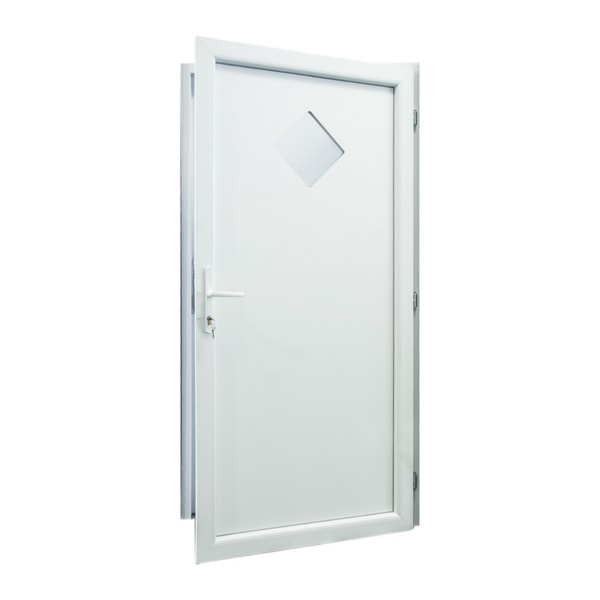 drzwi serwisowe d09 biale otwarte