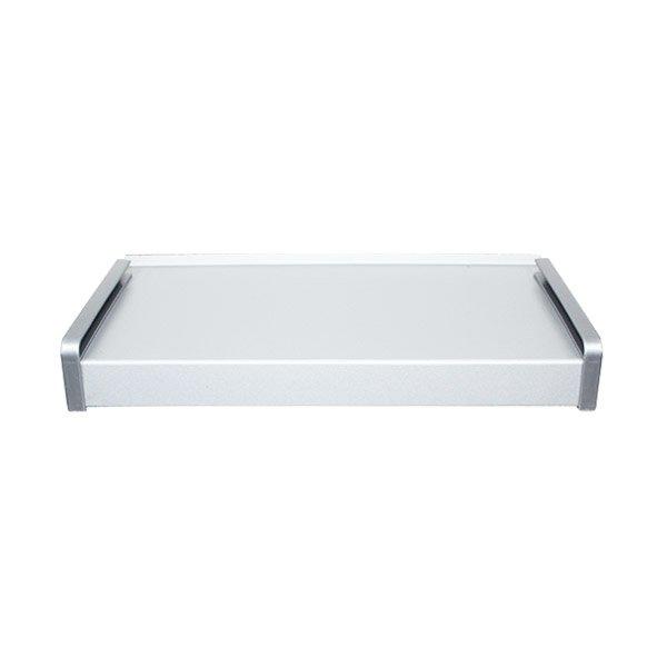 parapet stalowy zewnętrzny - bialy